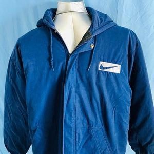 NIKE AIR Vintage Quilted Mens Coat Size XL